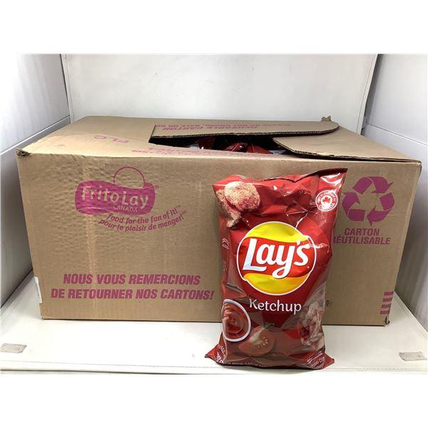 Lays Ketchup Chips (18 X 165G)