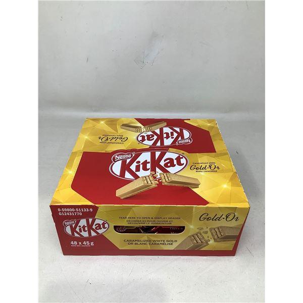 Kit-Kat Caramelized White Gold (48 X 45G)