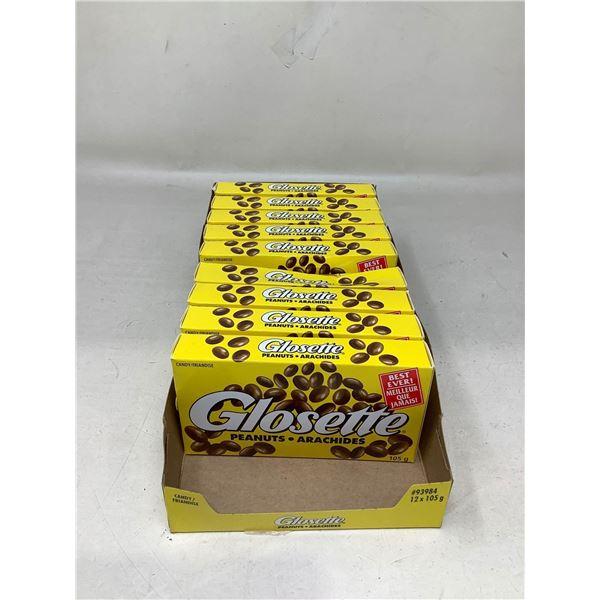 Glosette Chocolate Covered Peanuts (9 X 105G)