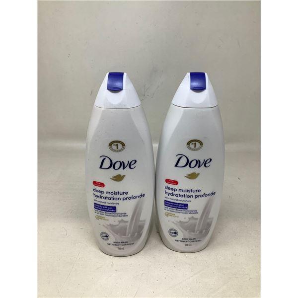 Dove Deep Moisture Body Wash (2 X 710ML)