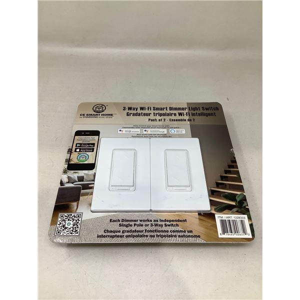 CE Smart Home 3-Way Wi-Fi Smart Dimmer Light Switch