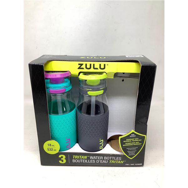 Zulu Tritan Water Bottles Lot Of 2
