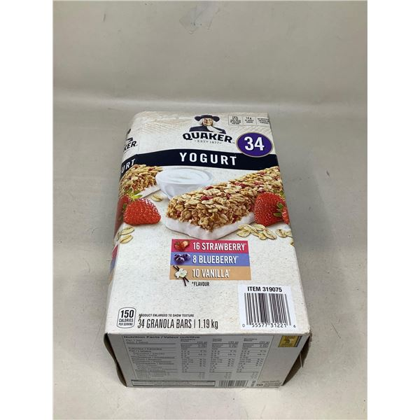 Quakers Yogurt Granola Bars