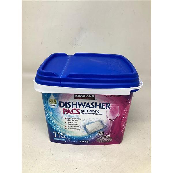 Kirkland Dishwasher Pacs115 Pacs