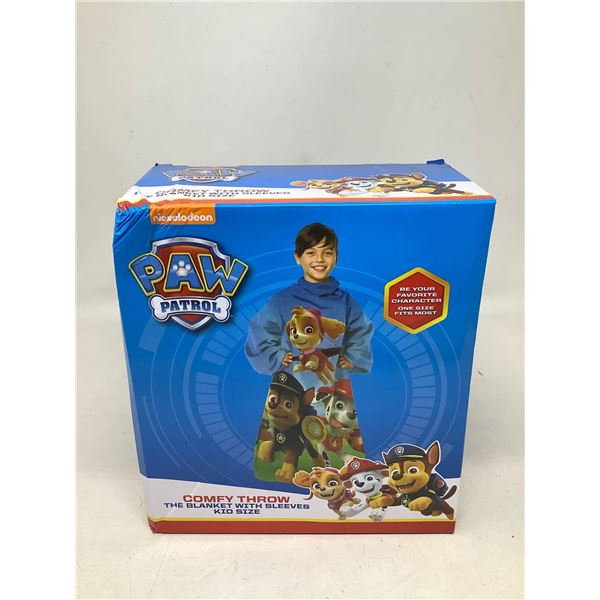 Paw Patrol Comfy Throw Blanket With Sleeves