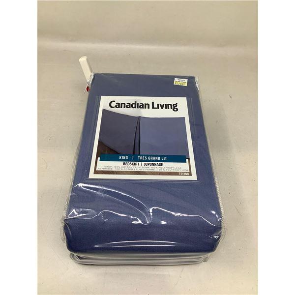 Canadian Living King Bedskirt