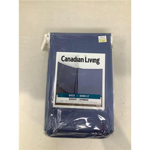 Canadian Living Queen Bedskirt