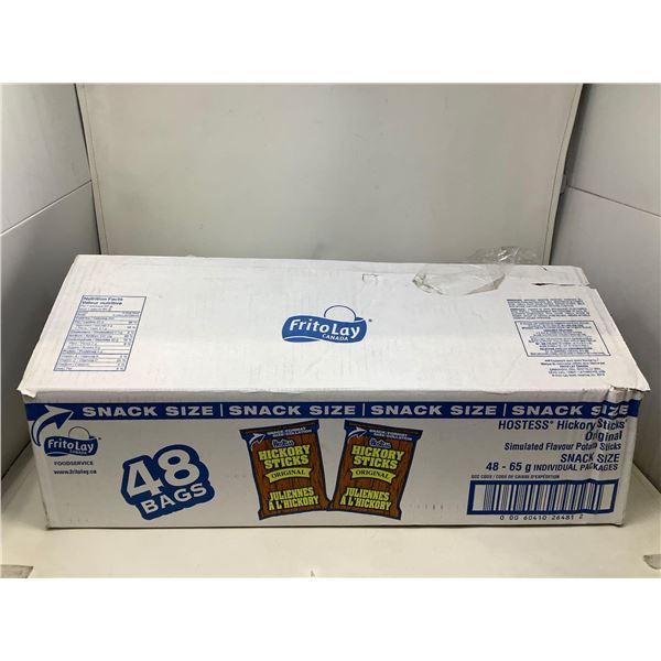 Hostess Hiclory Sticks Snack Size Case