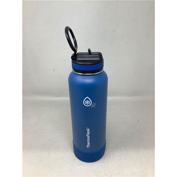 ThermoFlask Blue Water Bottle