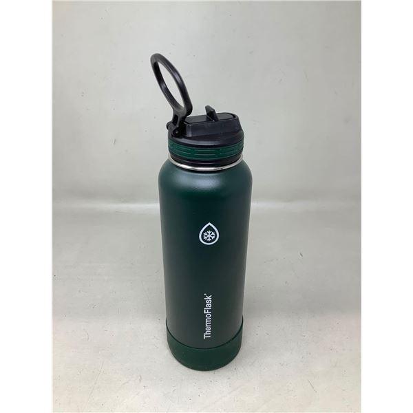ThermoFlaskDark Green Water Bottle
