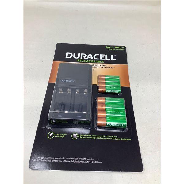 NEW Duracell RechargableBattery Set (AAA + AA)