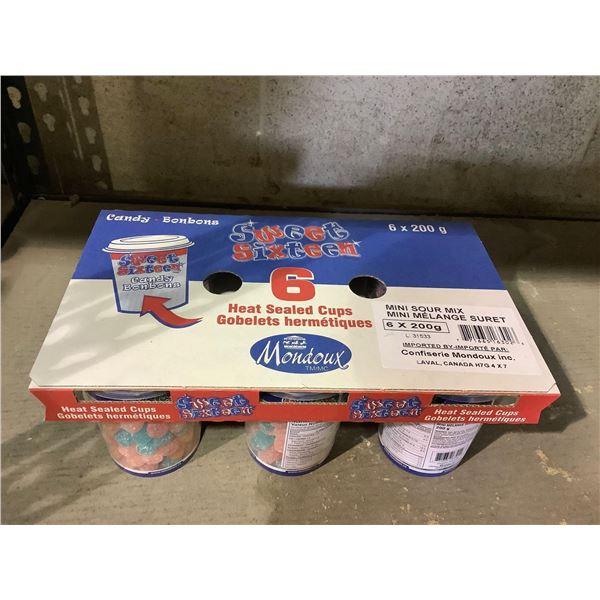 Sweet Sixteen Mini Sour Mix Candy (6 x 200g)