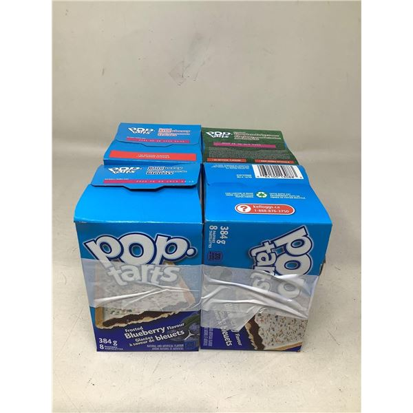 Assorted Lot Of Pop Tarts Lot Of 4