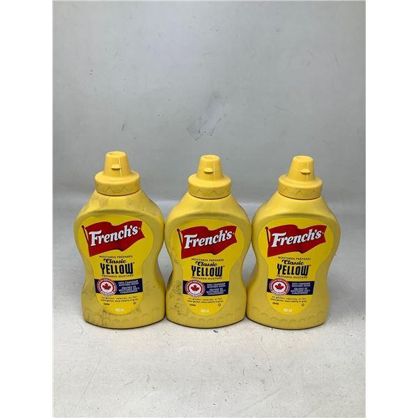 French's Classic Yellow Mustard (3 X 400ML)