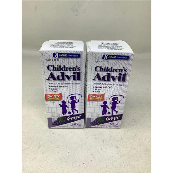 Childrens Advil Grape (2 X 100ML)