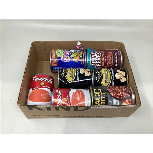 Assorted Canned Goods Lot Of 7