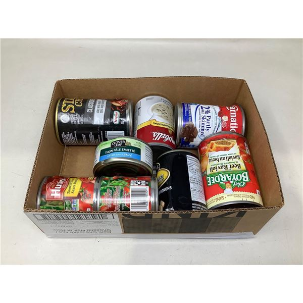 Assorted Canned Goods Lot Of 8