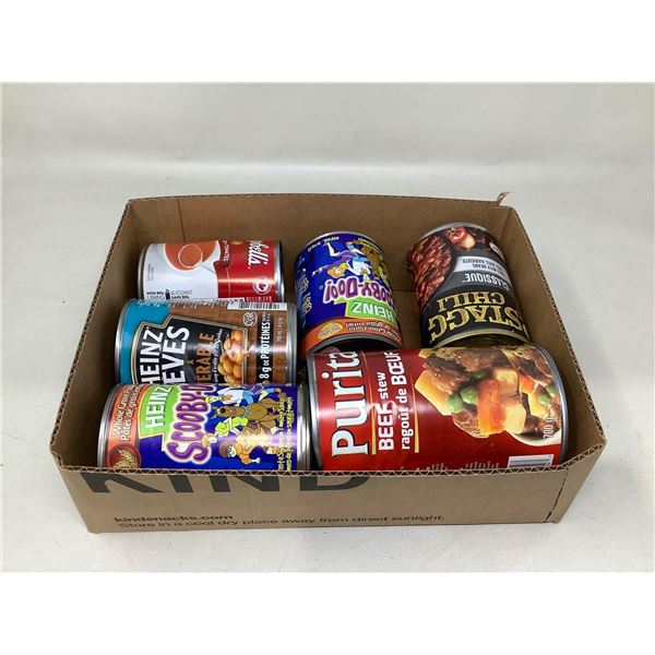 Assorted Canned Goods Lot Of 6