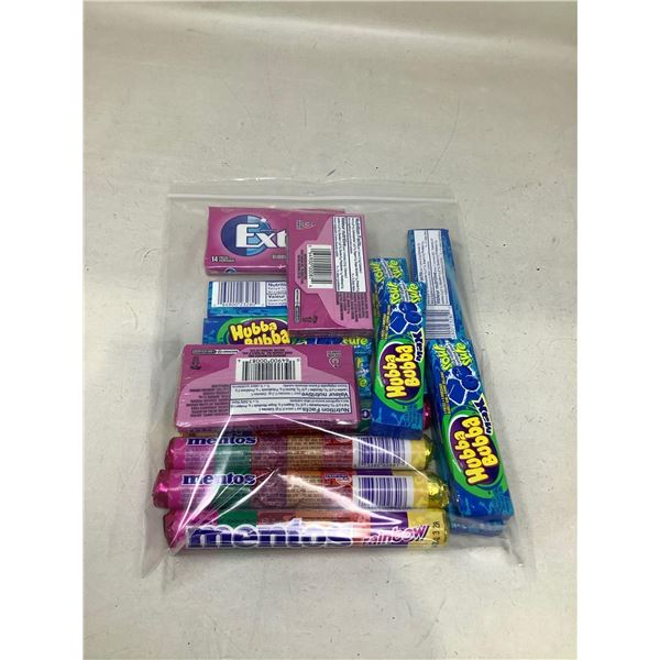 Assorted Gum And Candy Bag
