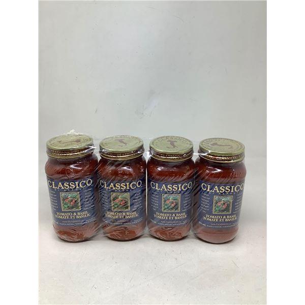 Classico Tomato & Basil (4 X 650ML)