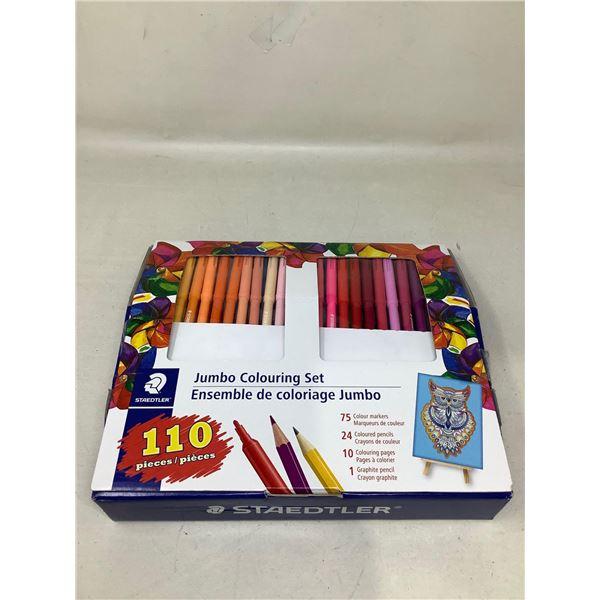 StaedtlerJumbo Colouring Set 110 Pieces