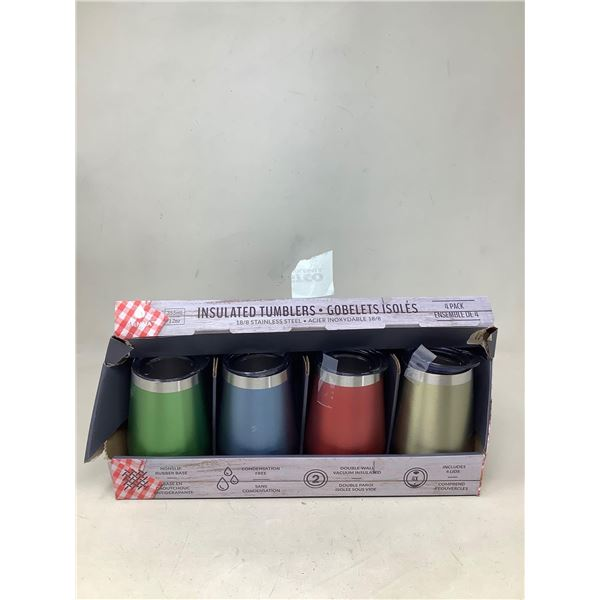 Insulated Tumblers Lot Of 4
