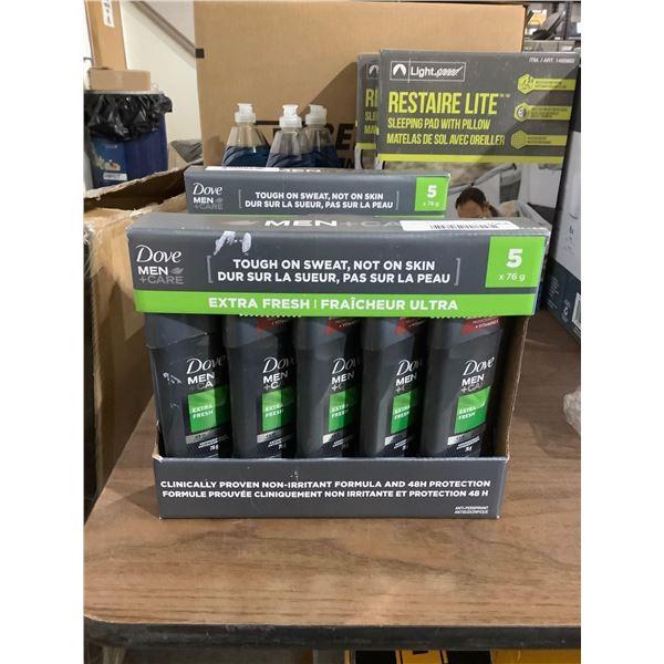 Dove Mens Care Extra Fresh Deodorant (5 x 76g)