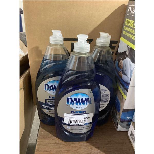 Dawn Ultra Platinum Dish Soap (3 x 709mL)