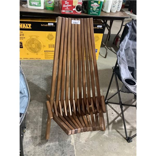Wooden folding Patio Chair