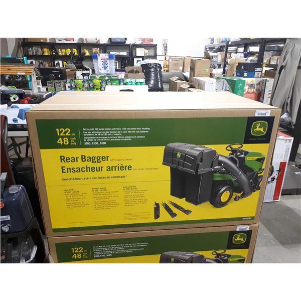John Deere 48in Rear Bagger attachment