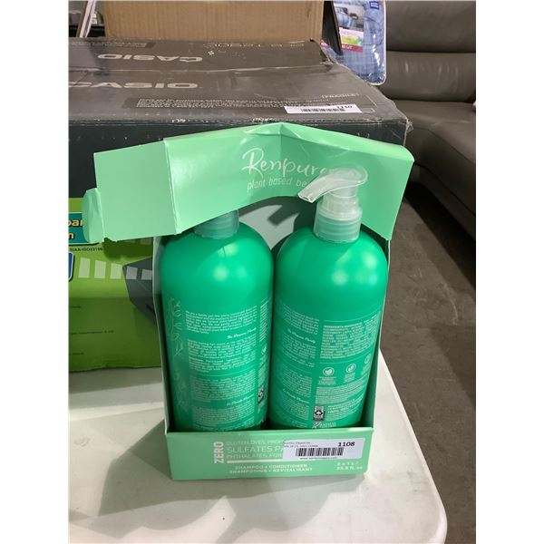 Renpure Plant Based Shampoo and Conditioner Set