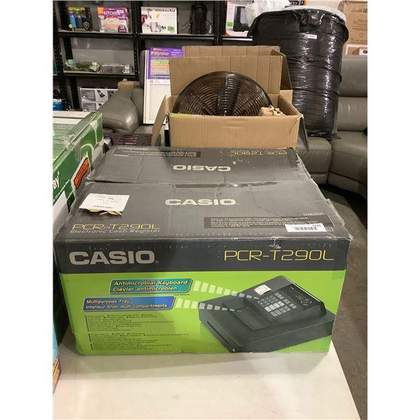Casio Electronic Cash Register - Model: PCR-T290L