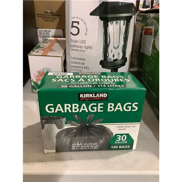 Kirkland 30 Gallon Garbage Bags