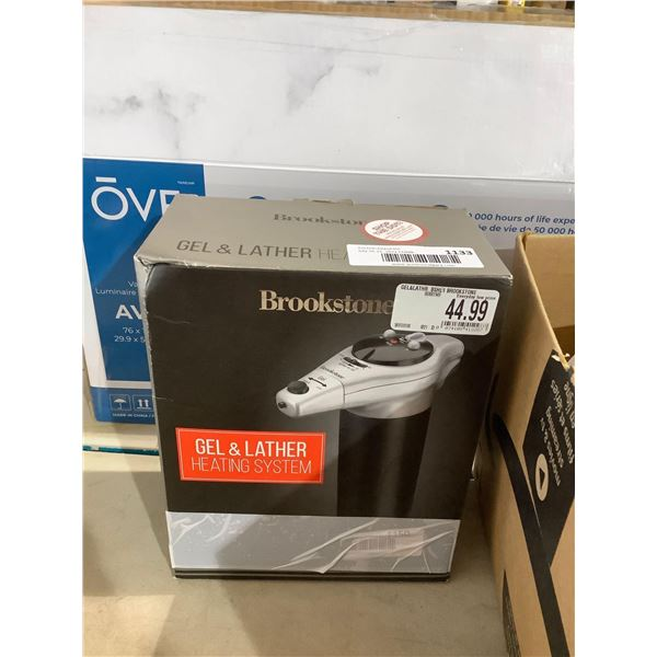 Brookstone Shaving Gel and Lather Heating System
