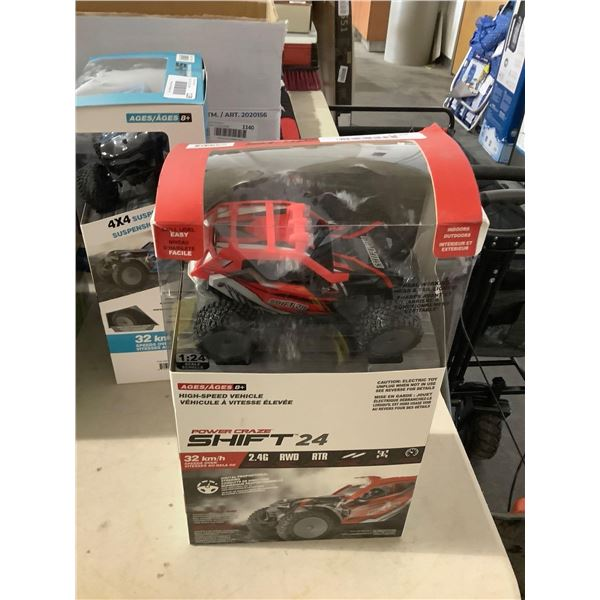 Power Craze Shift 24 High Speed RC Buggy - Red