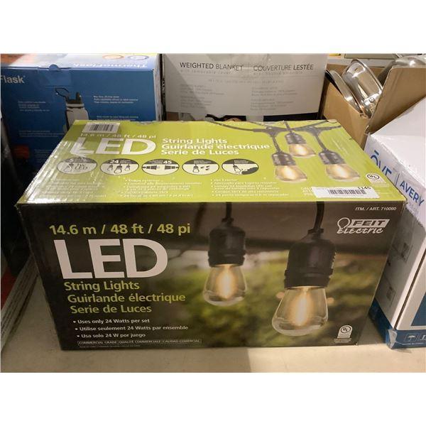 Feit Electric 48ft LED String Lights