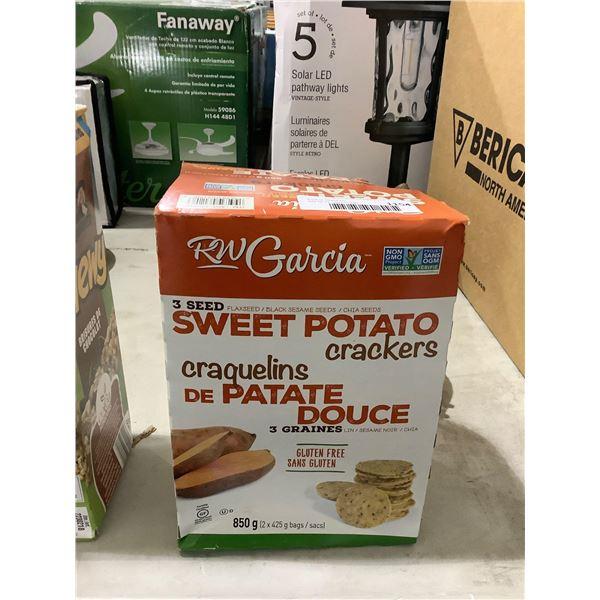 RW Garcia Sweet Potato Crackers (850g)