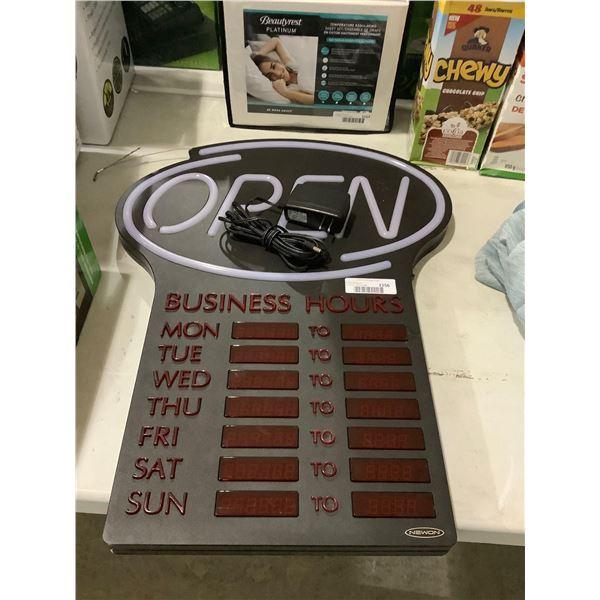 NewonLED Open Sign