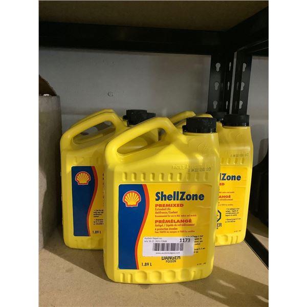 Shell Zone Premixed Antifreeze (5 x 1.89L)