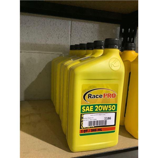 Race Pro SAE 20W-50 Motor Oil (6 x 946mL)