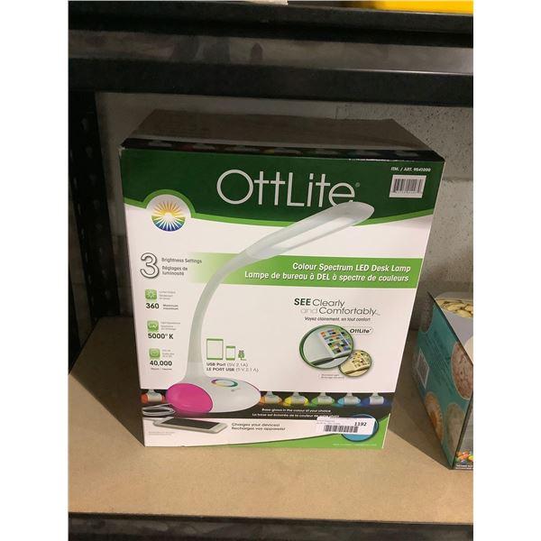 OttLiteColor Spectrum LED Desk Lamp