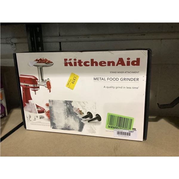 Kitchen Aid Metal Food Grinder