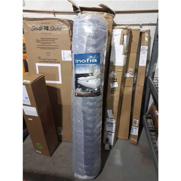 Inofia8in Full Size Hybrid Foam Spring Mattress
