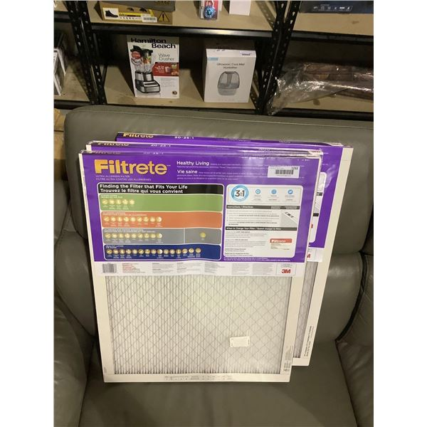 FiltreteHealthy Living Ultra AllergenFurnace Filters (20in x 25in x 1in) Lot of 3