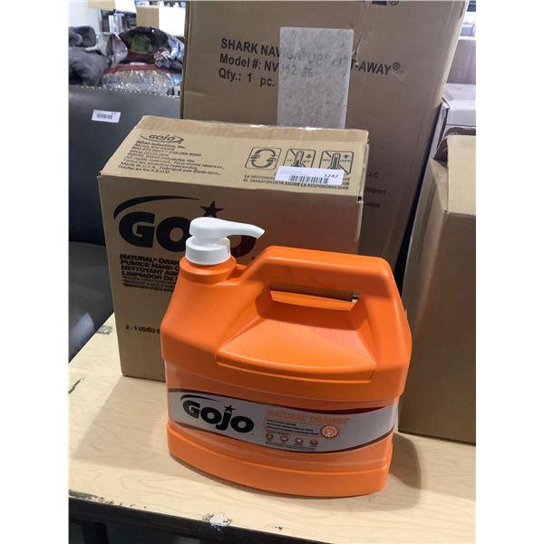 Case of GojoNatural Orange Hand Cleaner (2 x 3.78L)