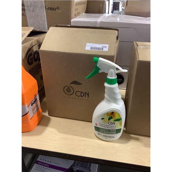 Case of Citrus Clean Lemon Tree Disinfectant Cleaner (6 x 24oz)
