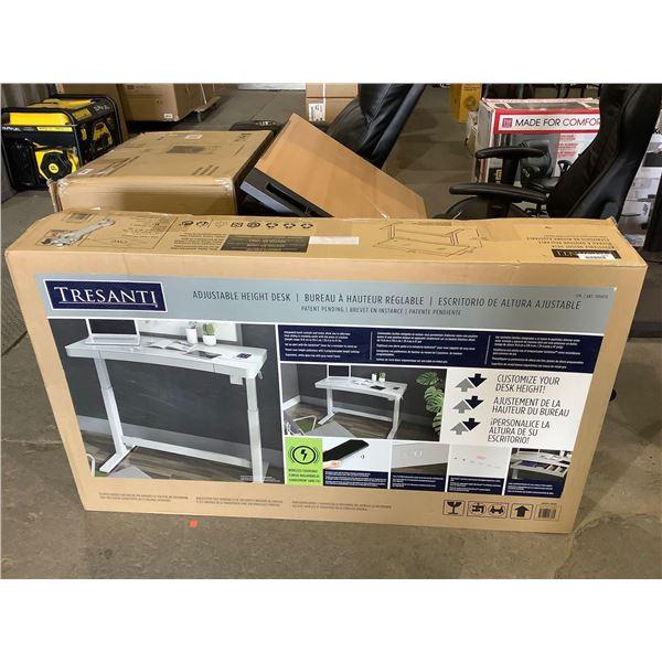 Tresanti Adjustable Height Desk (29.4in-47in x 23.7in x 47.3in)