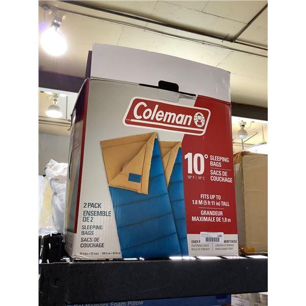Coleman Sleeping Bags 2-Pack (75in x 33in)