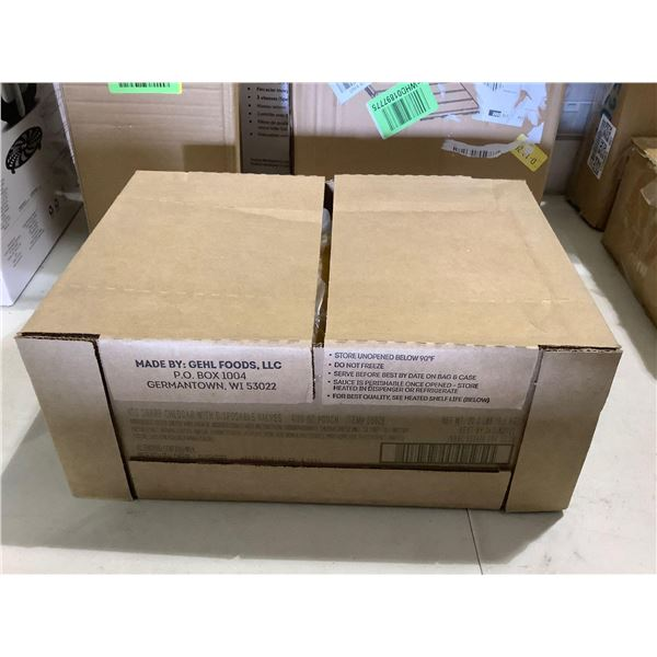 Case of Sharp Cheddar Cheese Sauce (9.1kg)