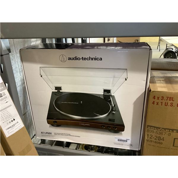 Audio-TechnicaFully Automatic Belt-Drive Turntable - Model: AT-LP60X